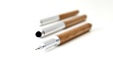 Eco-Essential Bamboo Pen by now&then