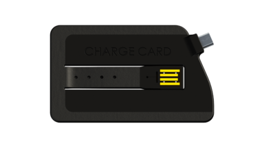 ChargeCard Credit Card Sized USB Charging Cable