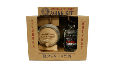 Rock Town Arkansas Lightning (bourbon white dog) Aging Kit
