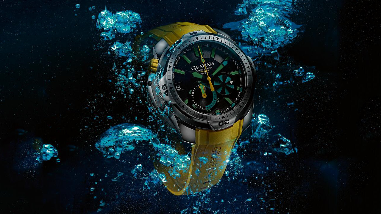 Graham Chronofighter Prodive Professional Divers Watch