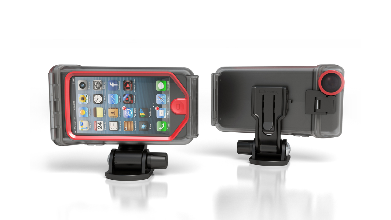 Transform Your iPhone into an Action Sports Camera with the Optrix XD5