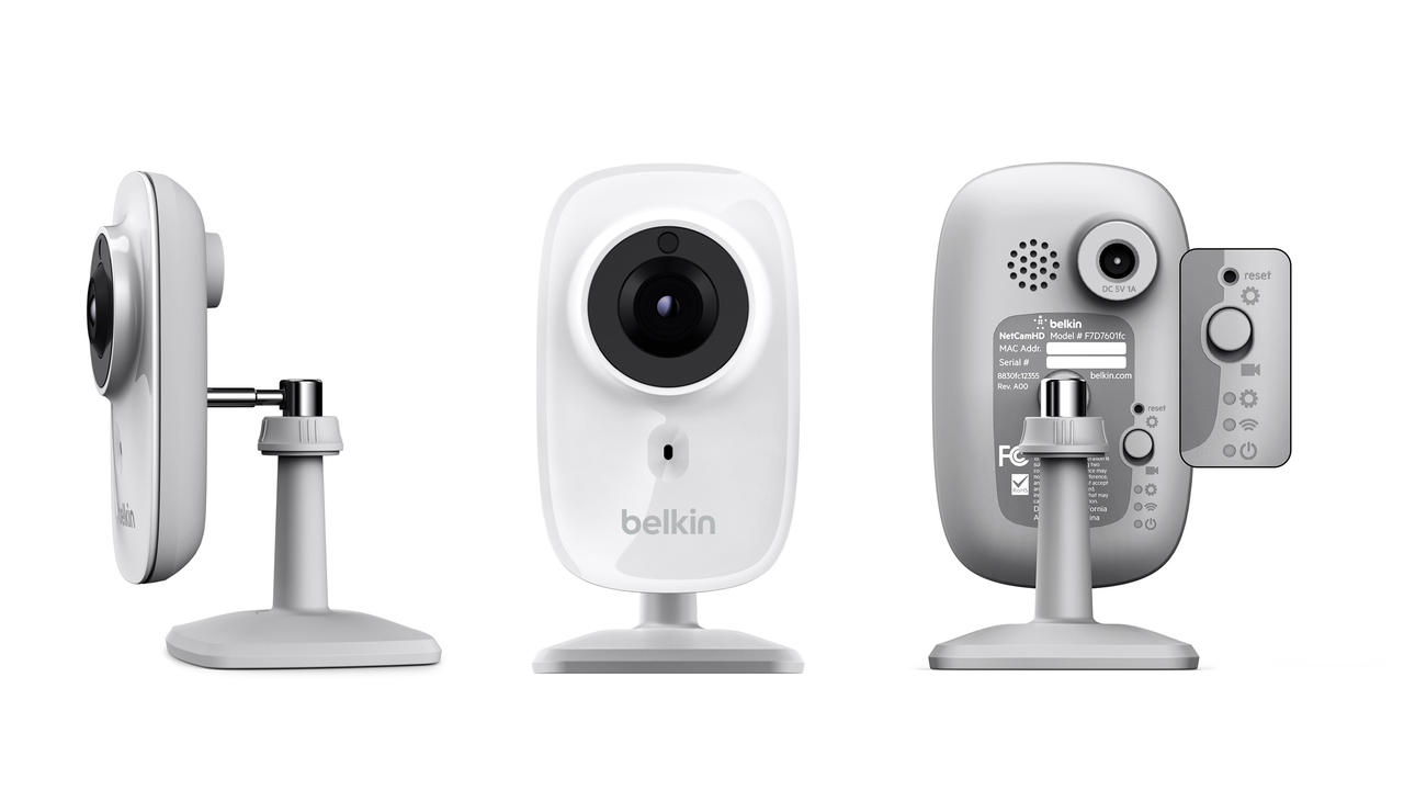 Belkin NetCam HD Wi-Fi Camera with Night Vision
