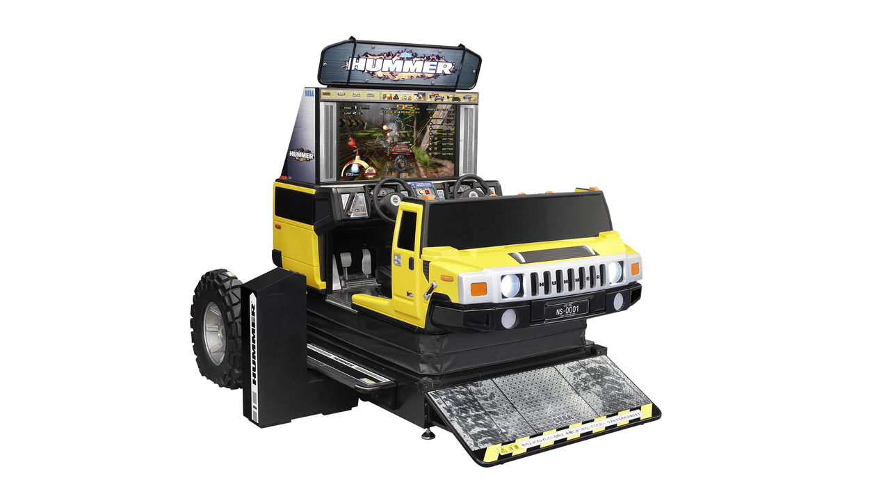 Hummer Motion Super Deluxe Arcade System
