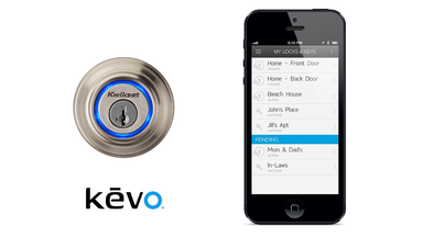 With the Kwikset Kevo your Smartphone is now Your House Key