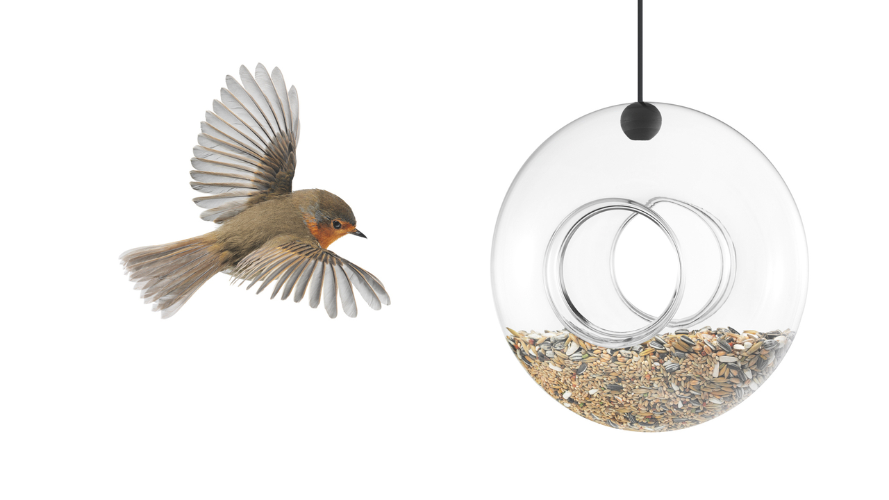 Eva Solo Hand Blown Hanging Bird Feeder