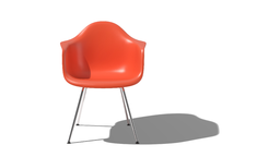 Eames Molded Plastic Chairs Return in a New, More Sustainable Fiberglass