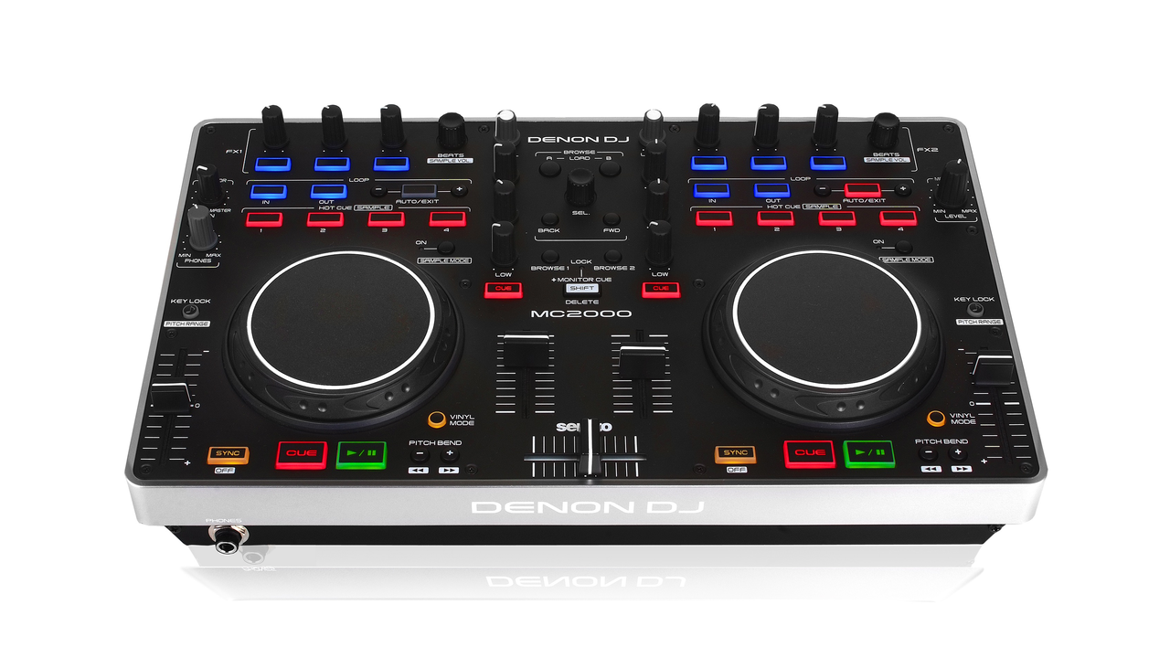 Denon MC2000 DJ Controller with Serato Intro