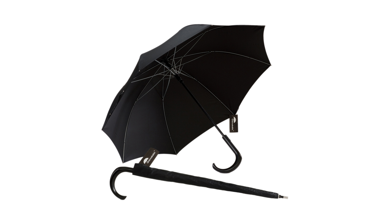 The Unbreakable Walking-Stick Umbrella
