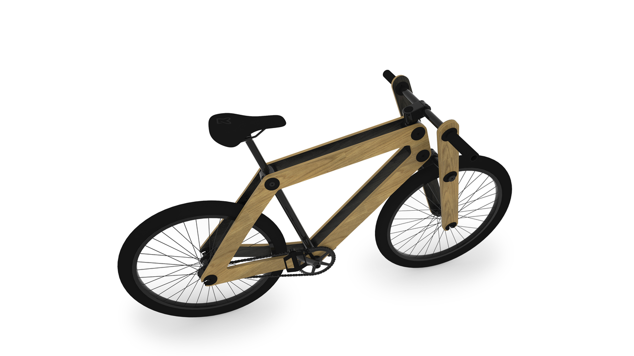 Sandwichbike: Build it Yourself Bike