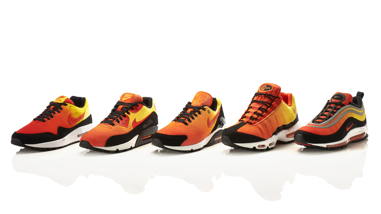 Sky's the Limit with the Nike Air Max Sunset Pack