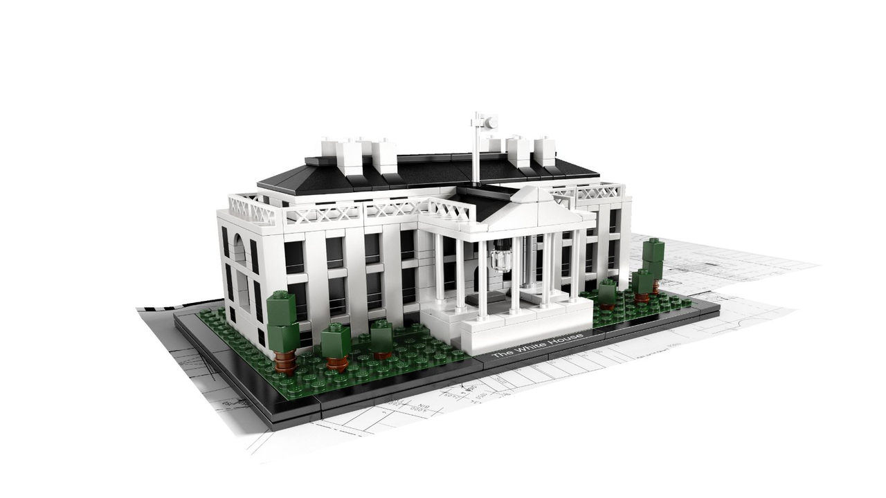 The White House by LEGO Architecture