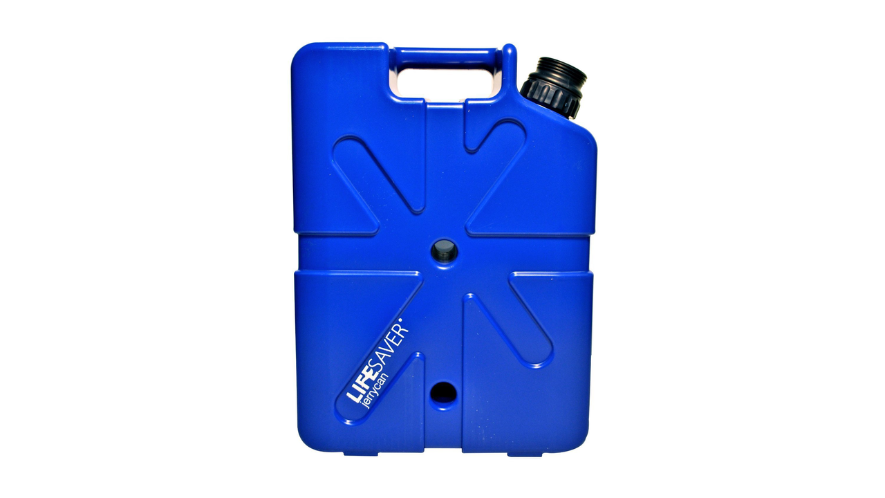 Lifesaver's Famous Filtration Technology in a JerryCan