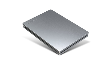 Toshiba Canvio 500 GB Slim Portable External Hard Drive