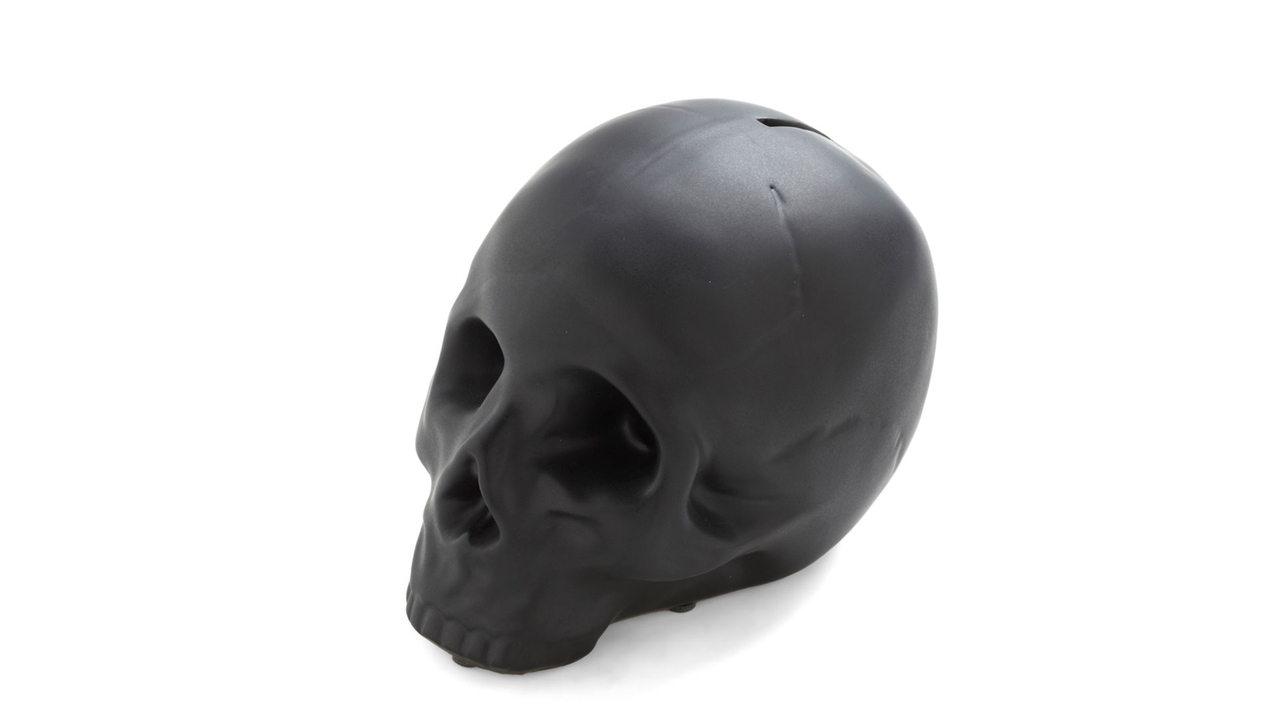 Skull Coin Bank by Kikkerland