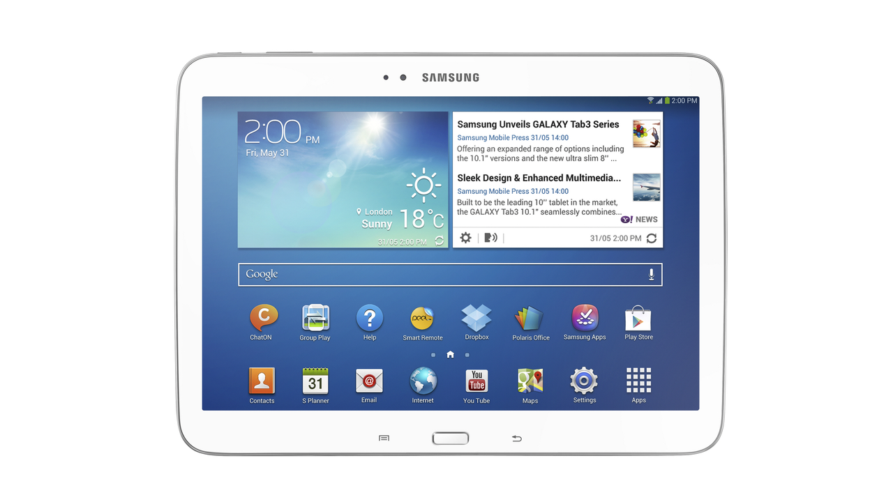 Samsung GALAXY Tab 3 Series: 8-Inch and 10.1-Inch