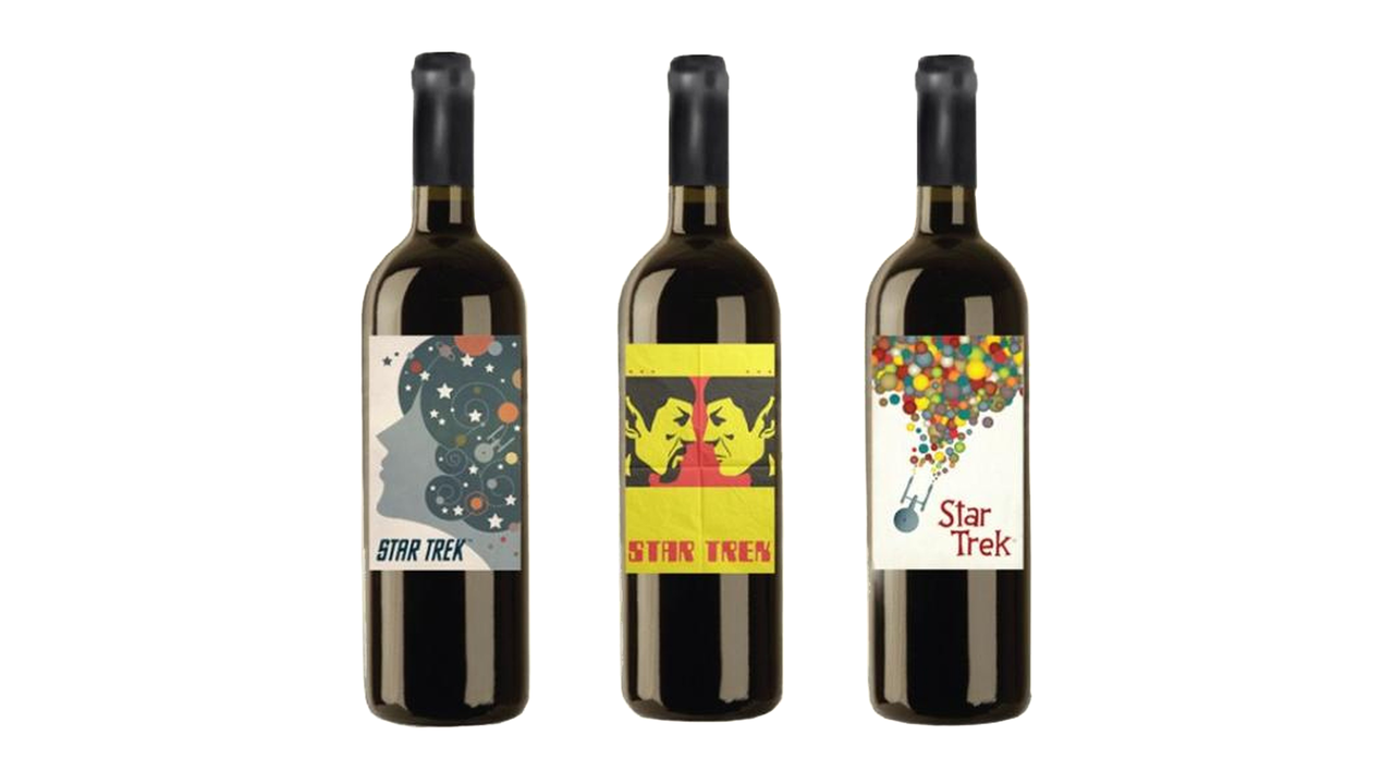 Limited Edition Star Trek Wines