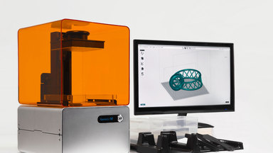 The Form 1 High Resolution Desktop 3D Printer