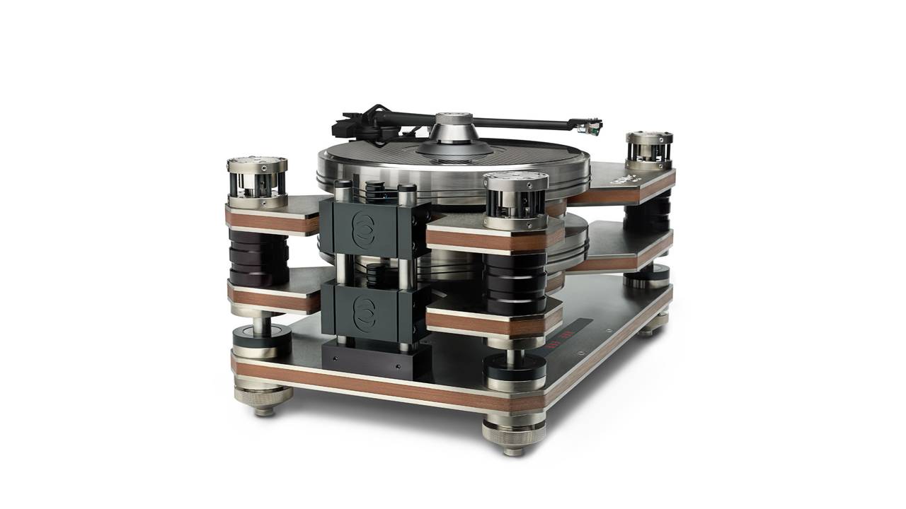 World's First Counter-Rotating Dual Platter Suspended Turntable by Kronos Audio