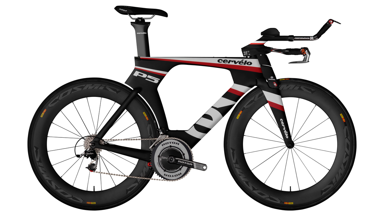 The Cervélo P5 Three Triathlon BIke
