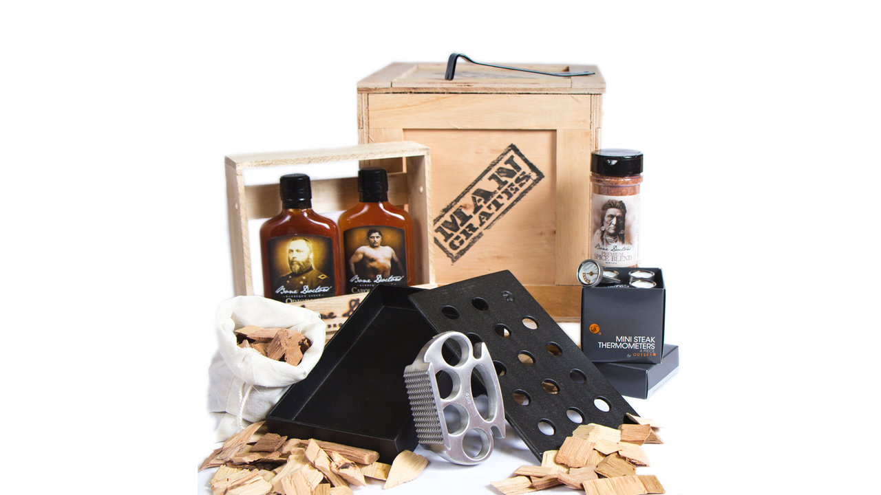 The Grill Master Crate from Man Crates