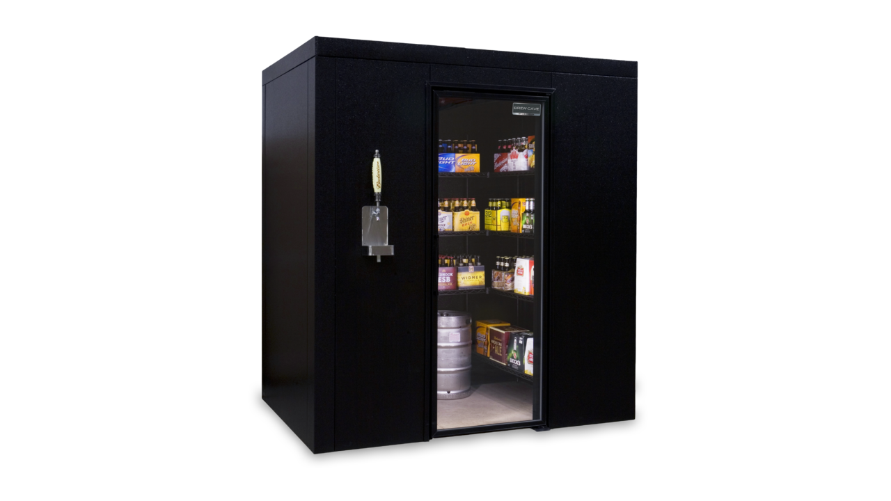 Brew Cave Personal Walk-In Beer Fridge