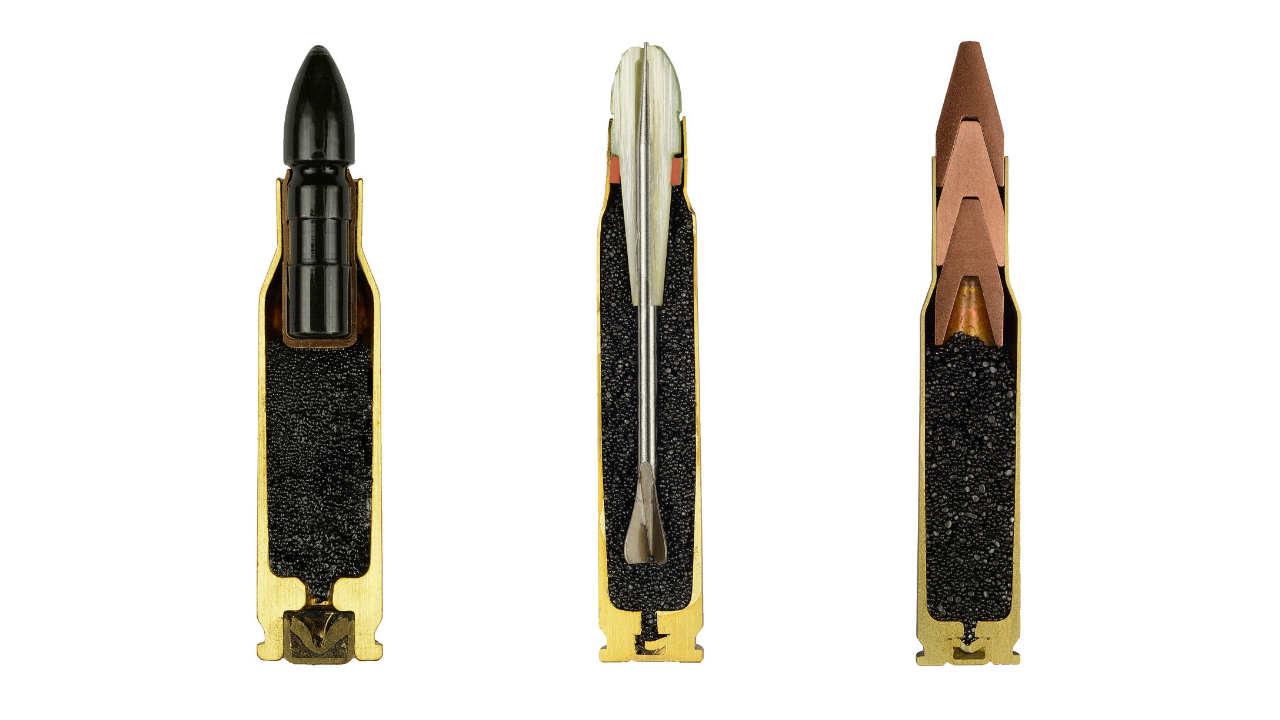 Ammo: A Series of Photographed Ammunition by Sabine Pearlman