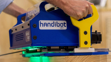 The Handibot Smart Robotic Power Tool by ShopBot