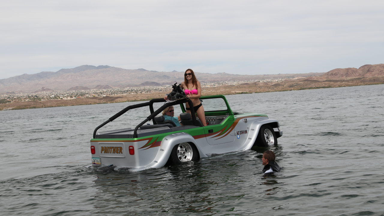 The Panther WaterCar