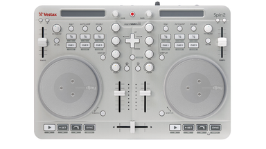 Vestax Spin2 DJ/VJ USB and iOS Controller