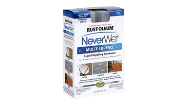 NeverWet Liquid Repelling Treatment