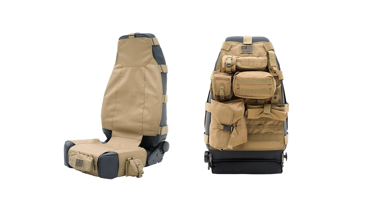 Smittybilt Tactical G.E.A.R. Seat Covers