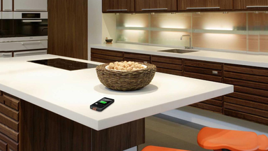 DuPont's Wireless Charging Corian Countertop