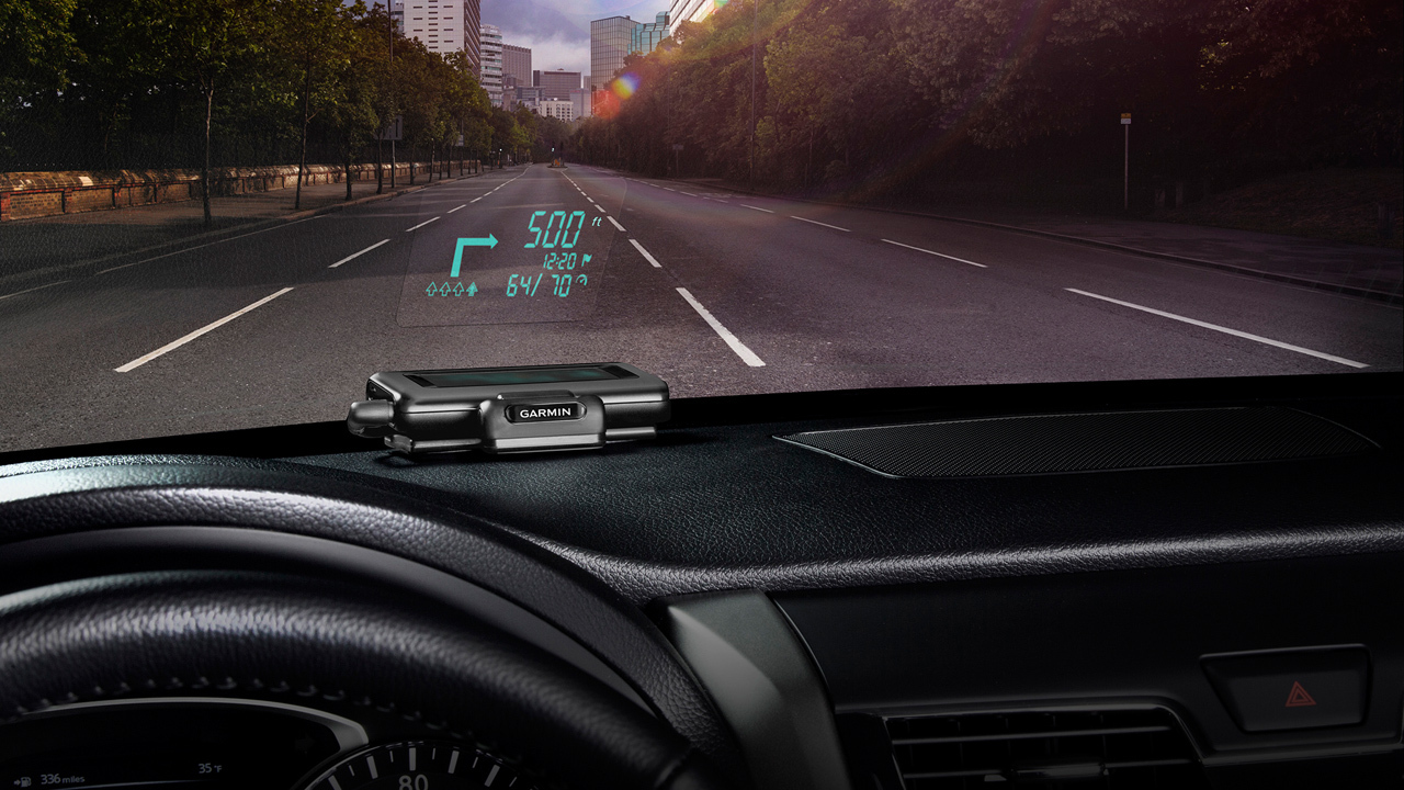 Garmin Head-Up Display (HUD)