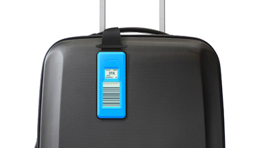 British Airways Hi-Tech Bag Tag