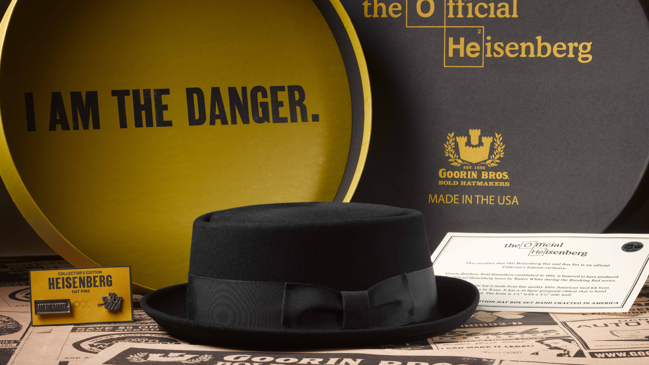 Goorin Bros in collaboration with Sony releases official Heisenberg Hat