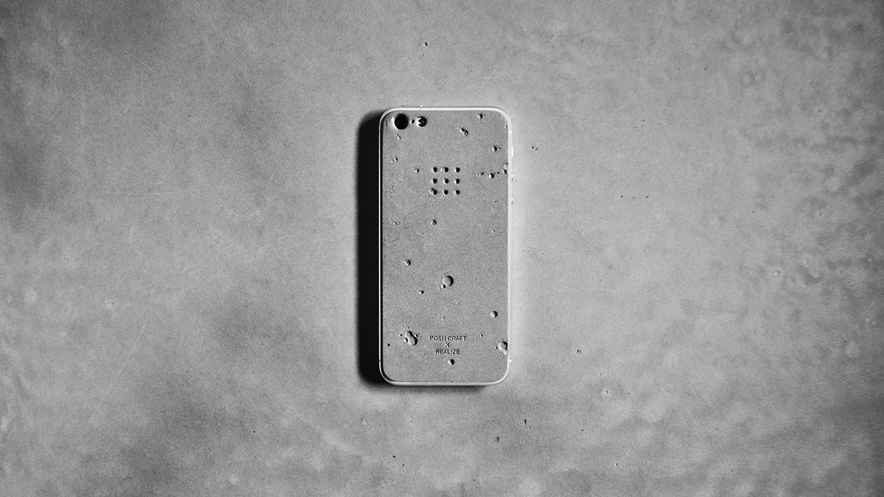 Posh Craft 'Luna' Concrete iPhone Skin