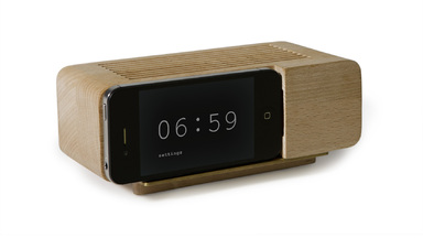 Areaware Alarm Clock for iPhone