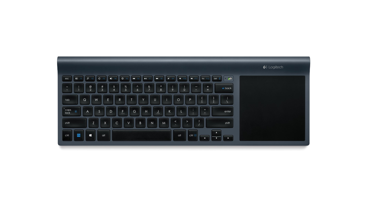 Logitech Wireless All-In-One Keyboard with Built-In Touchpad