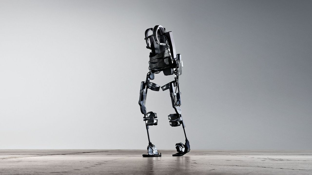 The Ekso Battery-Powered Exoskeleton