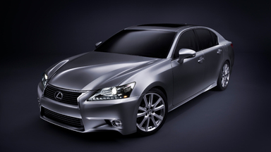 Lexus Unveils the All-New 2013 GS 350