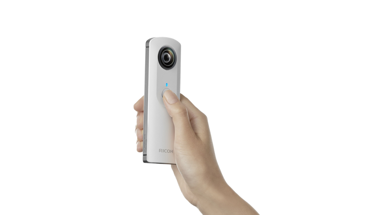 Take Fully Spherical Photos with the Ricoh Theta Camera