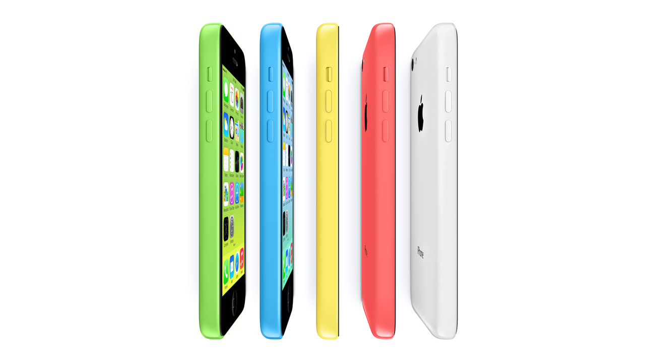 Apple iPhone 5c: Available In Five New Colors