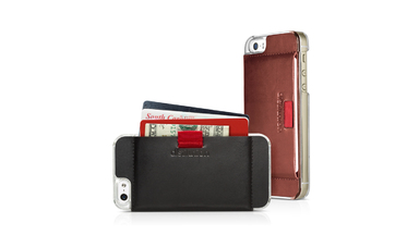 Wally Case: An Attachable Leather Wallet for Your iPhone