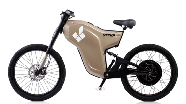 Greyp G-12: Half Bike, Half Motorcycle