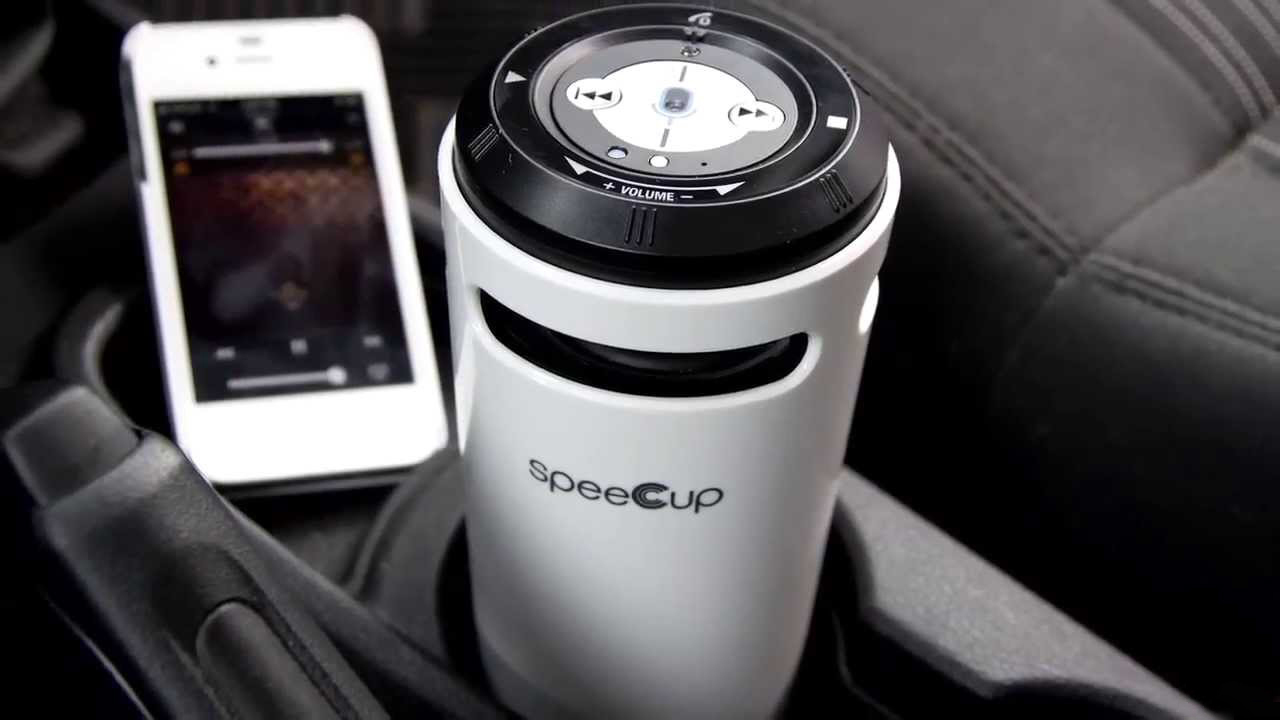 speeCup Voice Enabled Portable Bluetooth Surround Sound Speaker