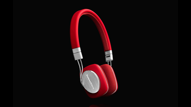 Bowers & Wilkins P3 Headphones Now in Bright Red