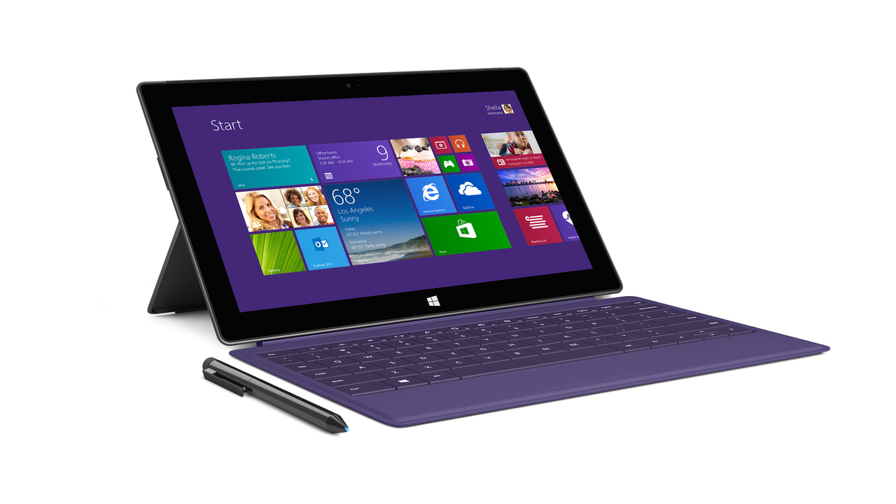 Microsoft Surface 2 and Surface Pro 2 Tablets