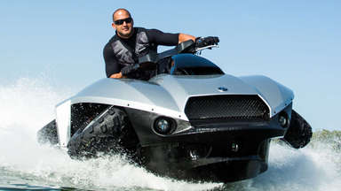 Drive on Land and Water with the Gibbs Quadski