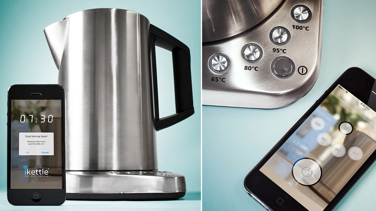 iKettle: World's First WiFi Kettle