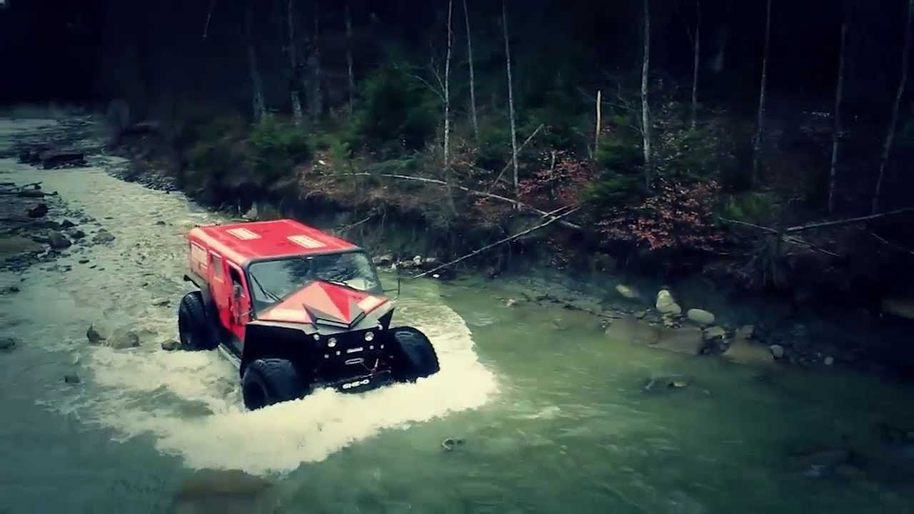 The Ultimate Rescue Utility Vehicle by Ghe-o Motors